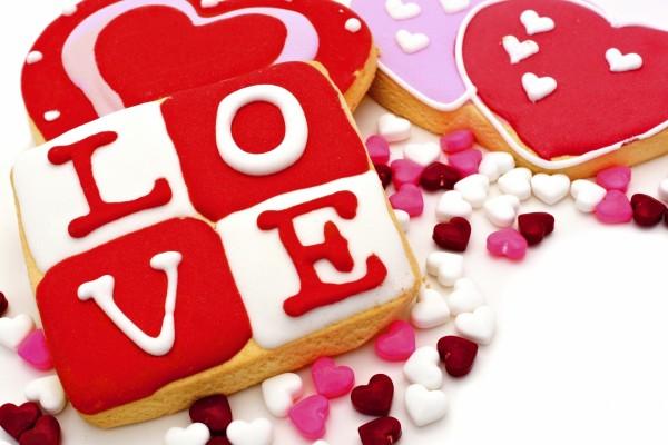 Galletas con mucho amor para regalar por San Valentín
