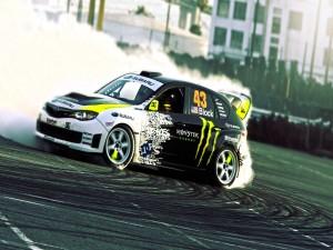 Coche de rally Subaru