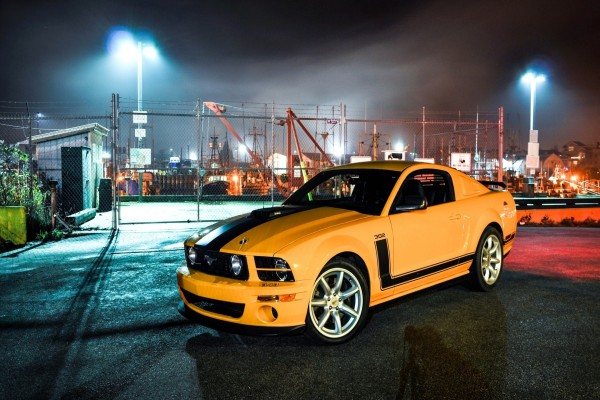 Un Ford Mustang