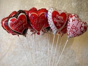 Globos para el Día de San Valentín