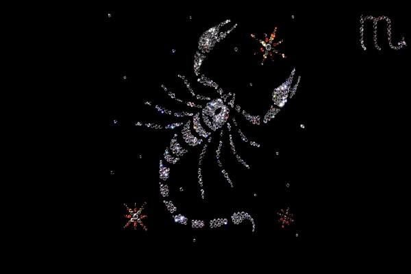 Un brillante signo de Escorpión