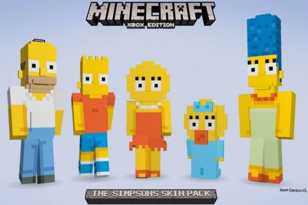 Los Simpsons en Minecraft