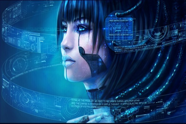 Mujer cibernética