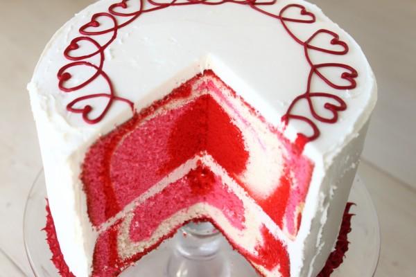 Tarta para comer el Día de San Valentín