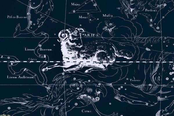 La constelación de Aries