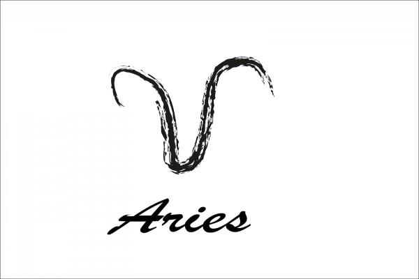 Aries en color negro