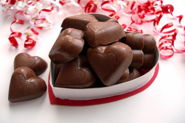 Bombones para San Valentín