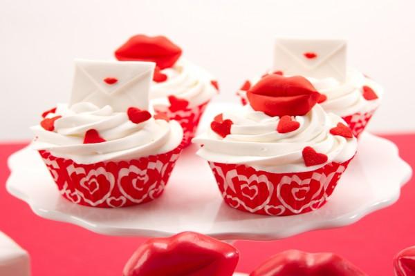 Originales cupcakes para regalar por San Valentín