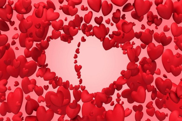 Corazones para celebrar el amor