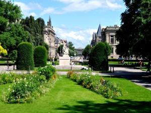 Parque en Estrasburgo (Francia)