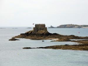 Postal: Fuerte del Petit Bé, Saint Malo (Francia)