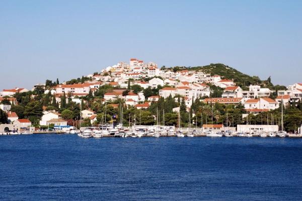 Vista de Dubrovnik, Croacia