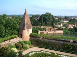 Jardines de la catedral Santa Cécile (Albi, Francia)