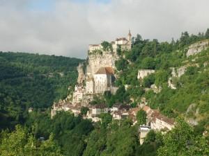 Postal: Rocamadour, Francia