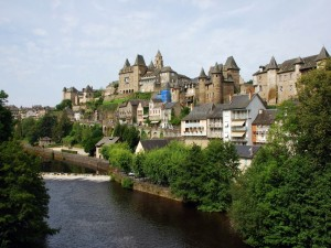 Postal: Uzerche, Francia