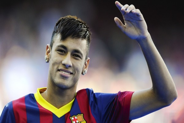 Neymar Da Silva con la camiseta del Barcelona