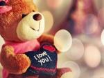 Oso de peluche para regalar en San Valentín