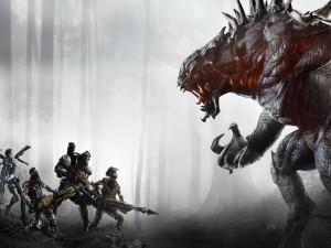 "Bestia y cazadores ""Evolve"""