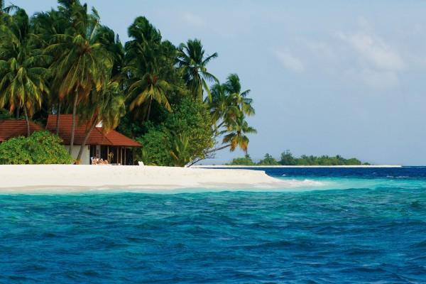 Pareja disfrutando en una hermosa playa