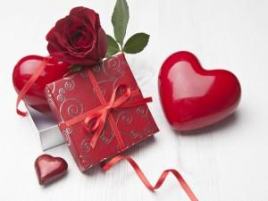 Postal: Espléndido regalo para San Valentín