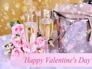 Postal: Una gran mesa romántica para festejar el Día de San Valentín