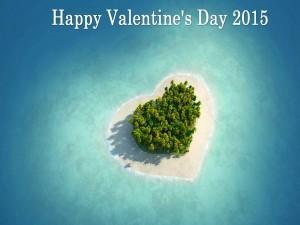 Postal: Feliz Día de San Valentín 2015