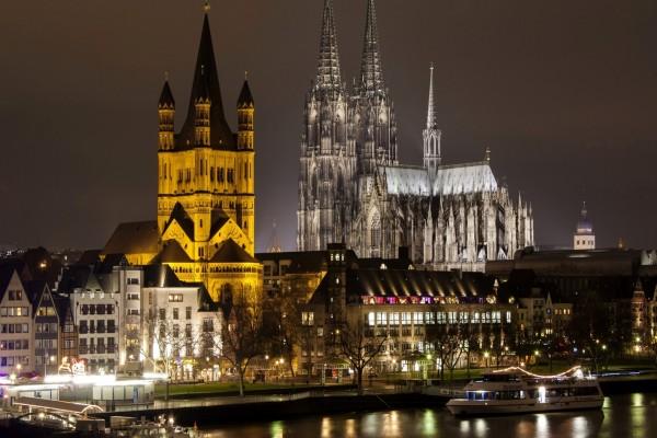 Noche en Colonia (Alemania)
