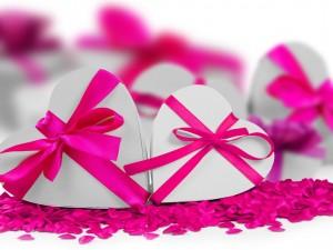 Románticos corazones para San Valentín