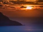 Una hermosa puesta de sol en Mallorca