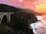Puente Bixby Creek, California