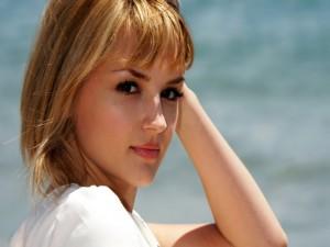 La actriz estadounidense Rachael Leigh Cook