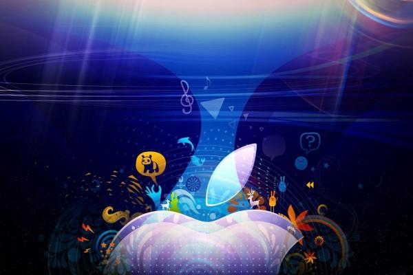 Imagen con el logo de Apple