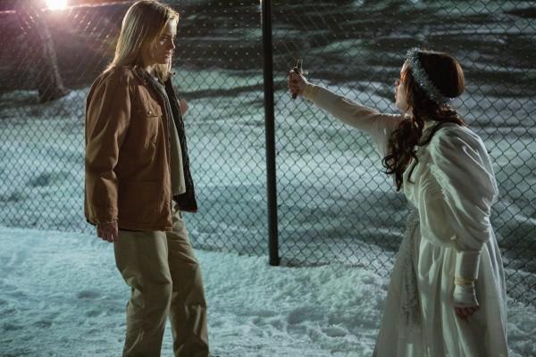 """Piper y Pennsatucky en una escena de """"Orange is the new Black"""""""