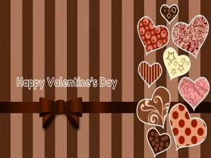 Corazones y Feliz Día de San Valentín