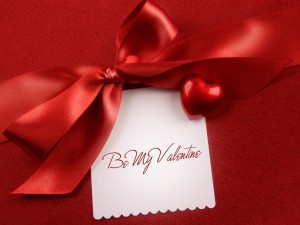 Postal: Tarjeta para festejar San Valentín