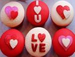 Hermosos cupcake decorados para San Valentín