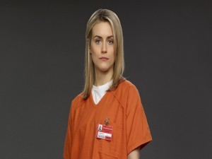 Postal: Piper Chapman, protagonista de Orange is the new Black