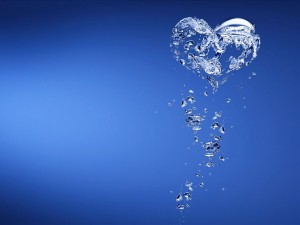 Corazón de agua