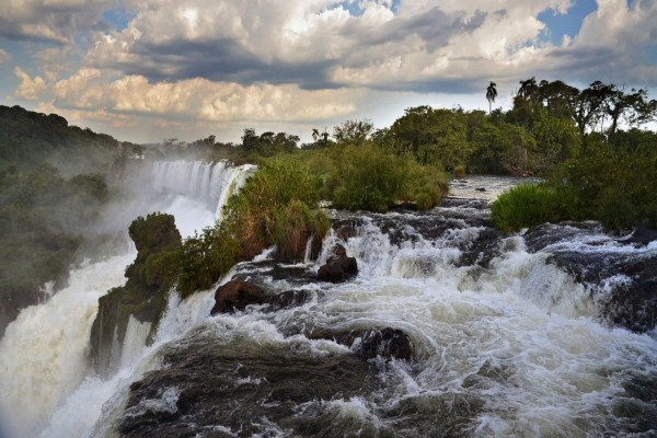 Las majestuosas Cataratas del Iguazú (Argentina)
