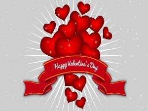 Amorosa felicitación para San Valentín