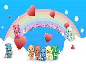 """Los Osos Amorosos te desean """"Feliz Día de San Valentín"""""""