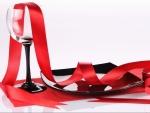 Elementos preparados para festejar San Valentín