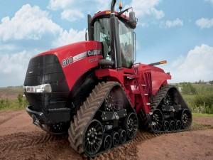 Un tractor Case IH 600
