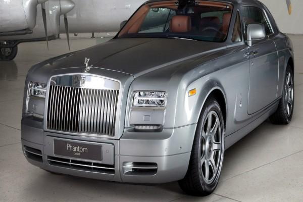 Un elegante Rolls-Royce Phantom Coupe