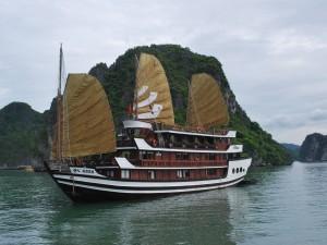 Un hermoso barco