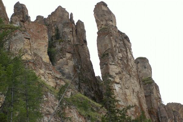Pilares del Lena (Rusia)