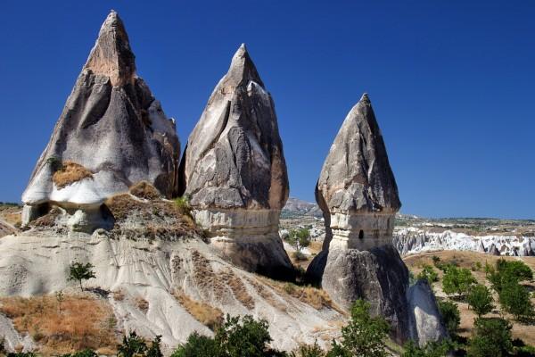 Admirando la belleza natural de Göreme (Capadocia, Turquía)