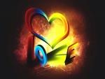 Amor con luz y color