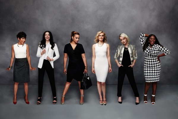 Elegantes actrices de Orange is the new Black