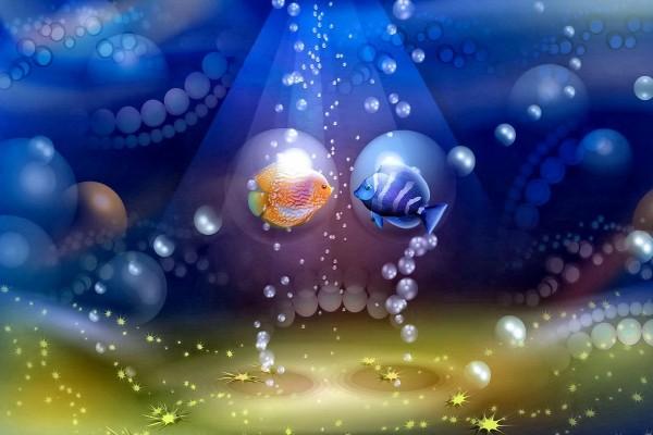 Romance bajo el mar